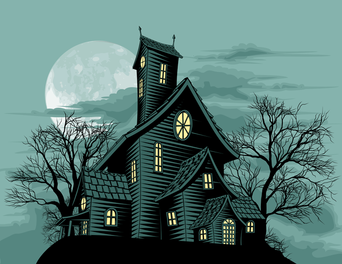 haunted house alexa skill