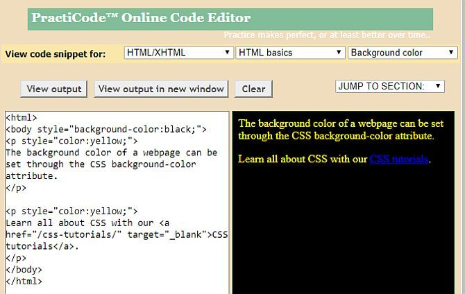 8 Best Websites For Quality HTML Coding Examples html coding6