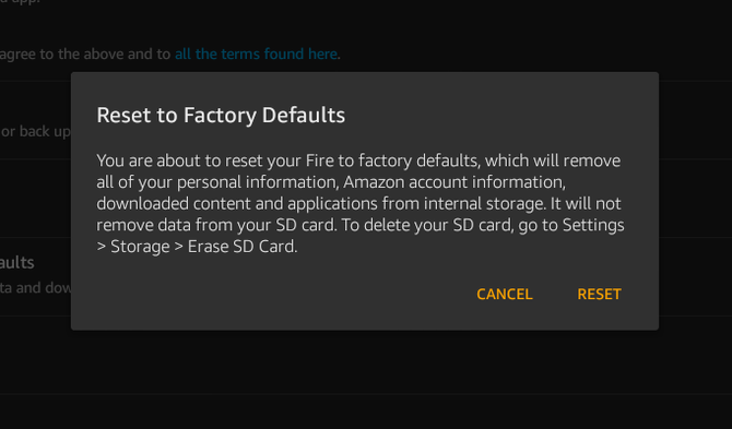 regain storage space on full amazon fire tablet