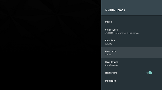 How to Set Up and Use Your Nvidia Shield TV nvidia cache 670x376
