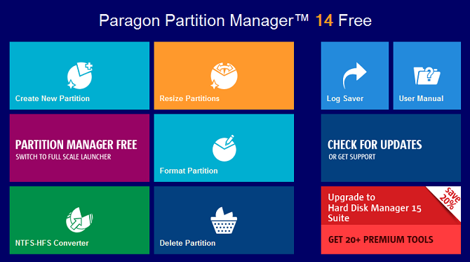 best partition managers windows paragon