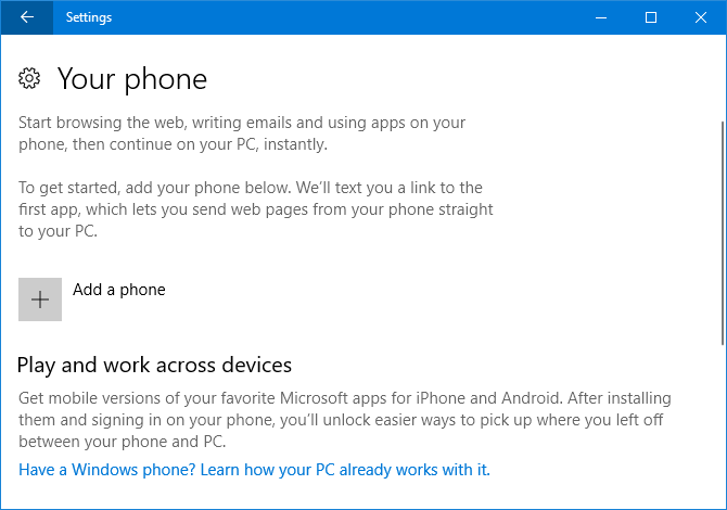 9 New Settings Features in the Windows 10 Fall Creators Update phone