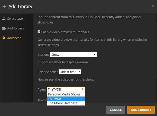 Your Guide To Plex - The Awesome Media Center plex library agent 670x494
