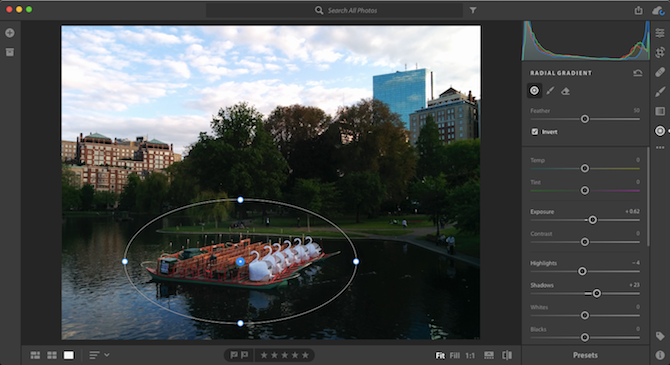 how to use new lightroom cc basics