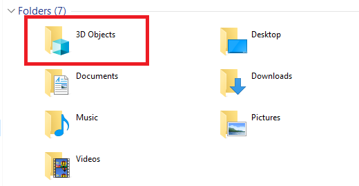 3D Objects on Windows 10: What It Is and How to Remove It regedit 3d folder thispc