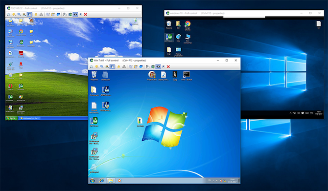12 Excellent, Free Screen Sharing & Remote Access Tools You Haven't Heard Of Yet remote desktop screen sharing Litemanager desktops 670x391
