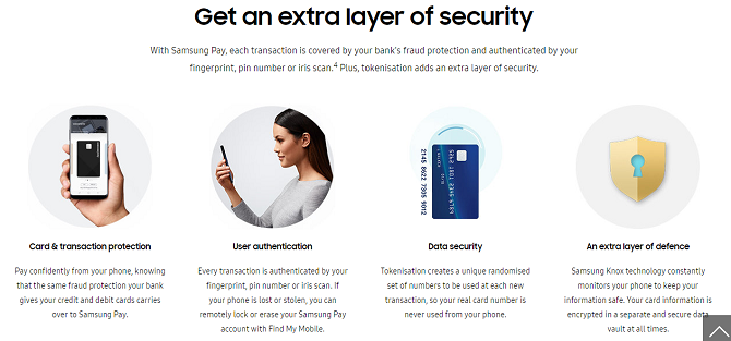 most secure nfc payment app samsung pay