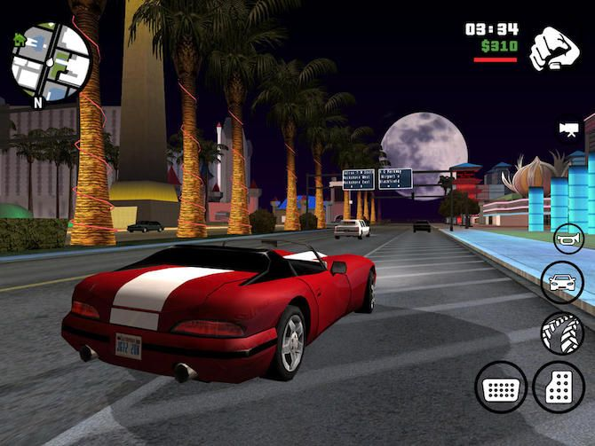 grand theft auto san andreas console game to mobile