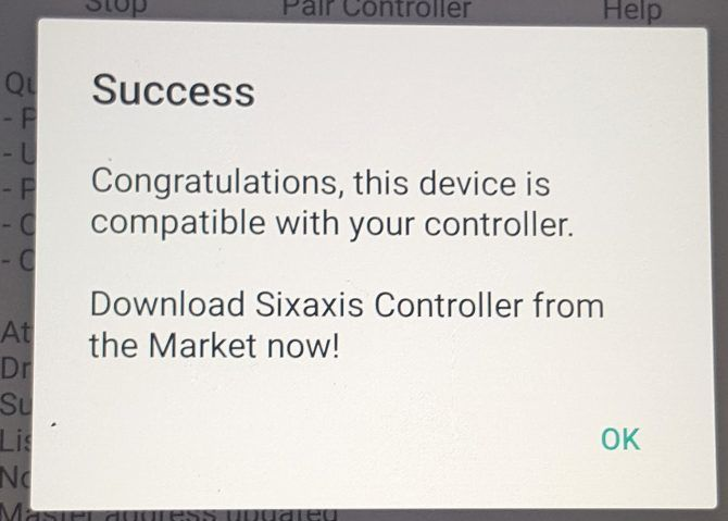 sixaxis compatibility success