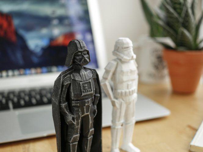 3d print star wars props darth vader stormtrooper figures