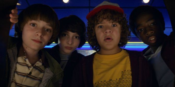 Netflix Releases a Free Stranger Things Game