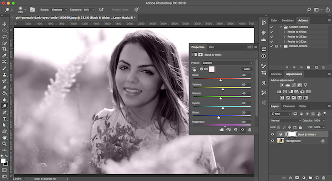 Learn Photo Editing in Photoshop: Get the Basics Down in 1 Hour tint