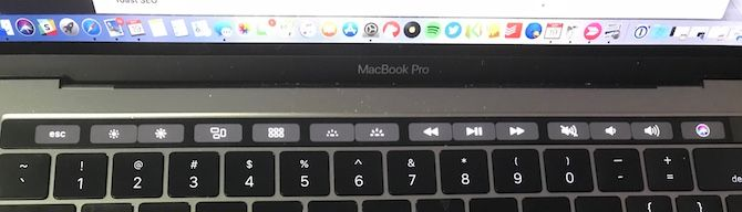 apple macbook pro touch bar disable