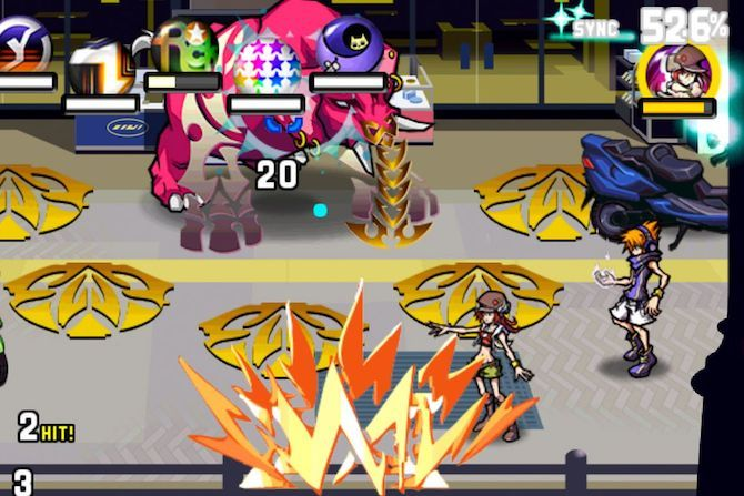 the world ends with you console game to mobile