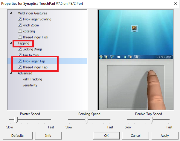 How to Right-Click and Middle-Click on Windows With a Touchpad