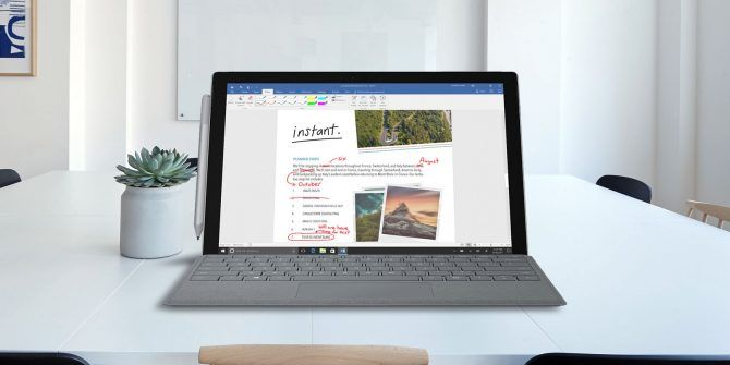 How to Use Windows Ink With a Touchscreen on Windows 10