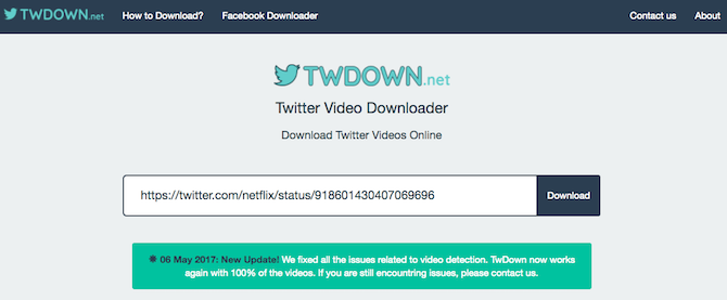 streaming video downloaders twdown