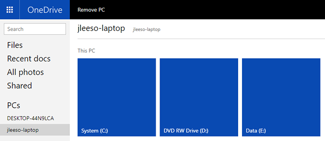 A Quick Guide to OneDrive in Windows 10 windows onedrive remote