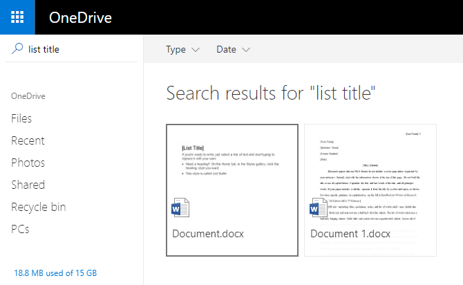 A Quick Guide to OneDrive in Windows 10 windows onedrive search