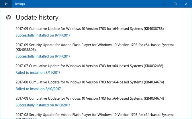 Do This Before Every Windows 10 Update or Installation windows update history