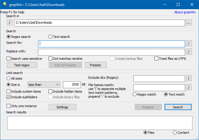 7 Free Windows Tools to Automate Repetitive Tasks windows utility grepwin