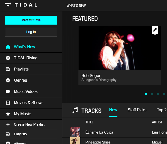 The Internet Music Guide for the Audiophile 02 Tidal Music
