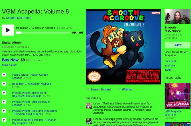 The Internet Music Guide for the Audiophile 07 Smooth McGroove Bandcamp