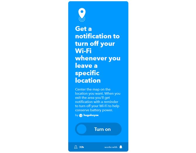 The Ultimate IFTTT Guide: Use the Web's Most Powerful Tool Like a Pro 65IFTTT WiFiNotification