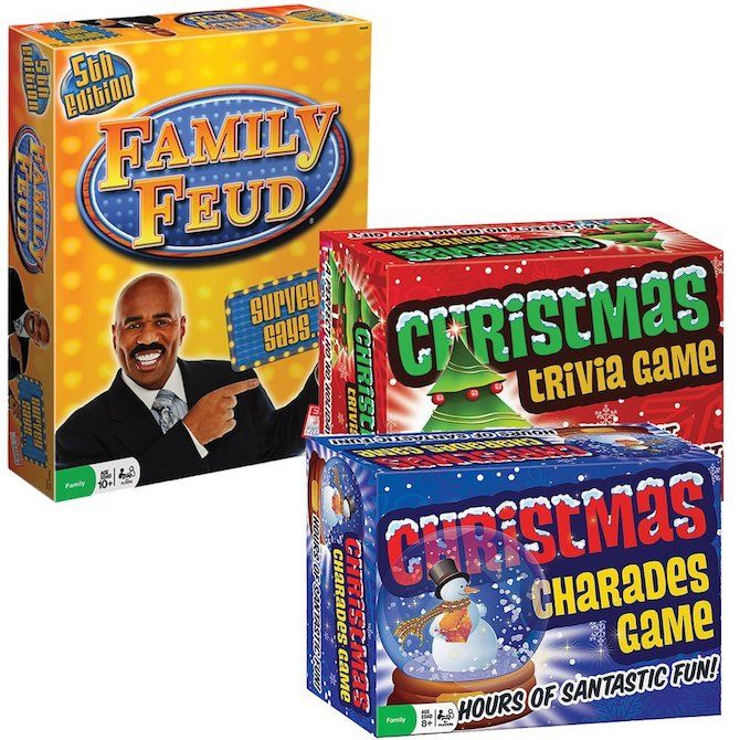 christmas party games family feud