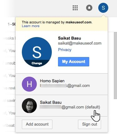 More Than One Google Account? How to Set a Default Sign-In Gmail Multi Sign in