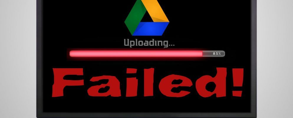 Solve File Upload Errors in Google Drive With These Quick