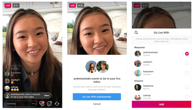 How to Request Joining a Friend's Instagram Livestream Instagram Live Request2