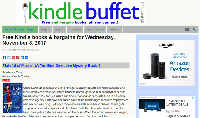 How to find infinite free kindle books to read infinite free kindle ebooks kindle buffet fandeluxe Image collections