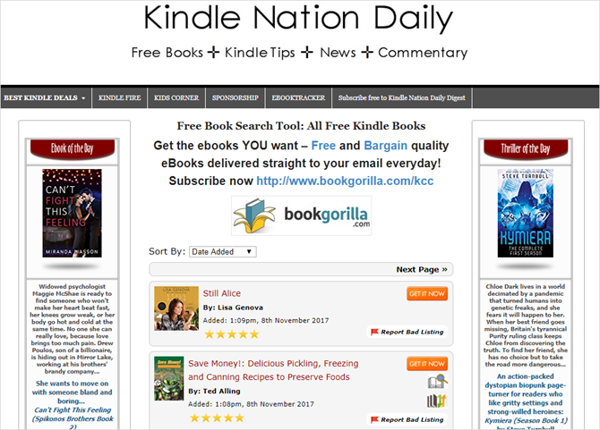 How to find infinite free kindle books to read infinite free kindle ebooks kindle nation daily fandeluxe Images