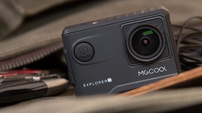 MGCool Explorer 2C Action Camera Review - Cheap as Chips, and Records in 4K MGCOOL 34