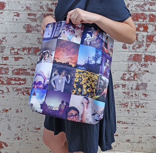 11 Ways To Turn Your Best Instagram Shots Into Gorgeous Gifts Stitcha Tote