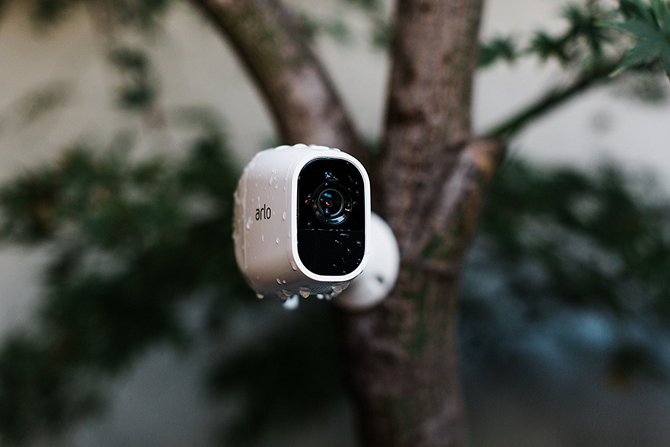 completely wireless home security camera arlo pro