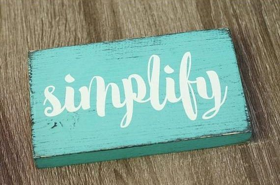 The Best Self-Improvement and Productivity Gifts for Christmas blue simplify sign e1510705909643