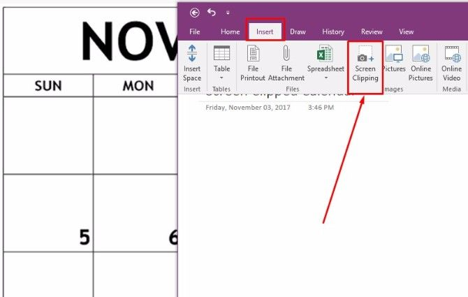 How To Create A Onenote Calendar Template