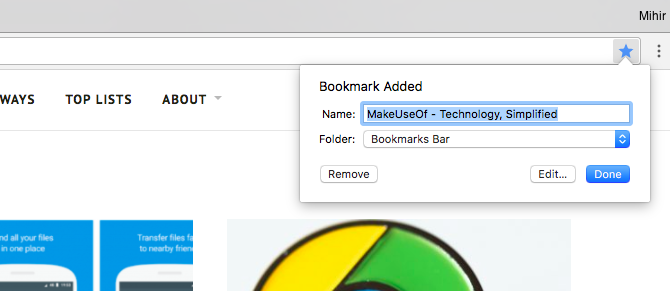The Easy Guide to Google Chrome chrome bookmarks 670x291