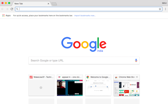 The Easy Guide to Google Chrome chrome new tab 670x415
