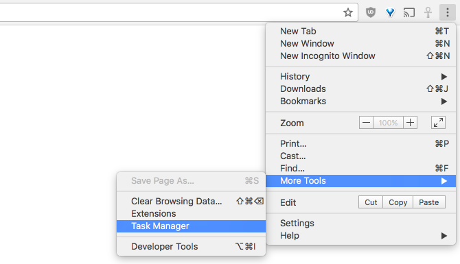 The Easy Guide to Google Chrome chrome task manager menu 670x385