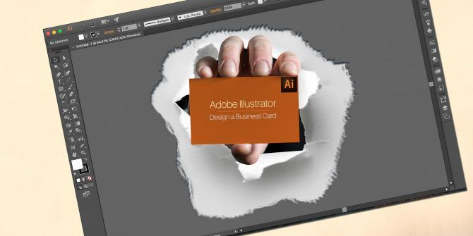 How to design a business card in adobe illustrator reheart Choice Image
