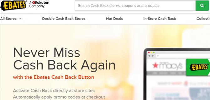 The MakeUseOf Online Shopping Guide ebates coupon finder make money online cashback 670x318