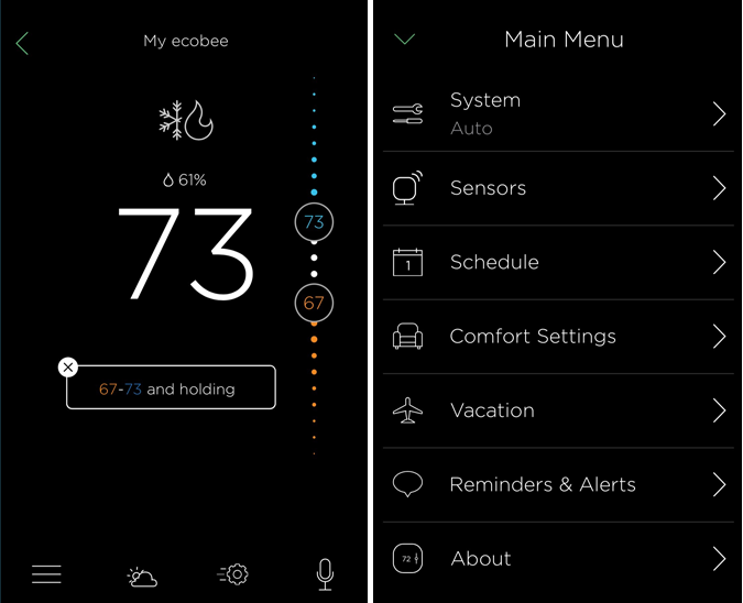 guide how to set up the ecobee4 smart thermostat
