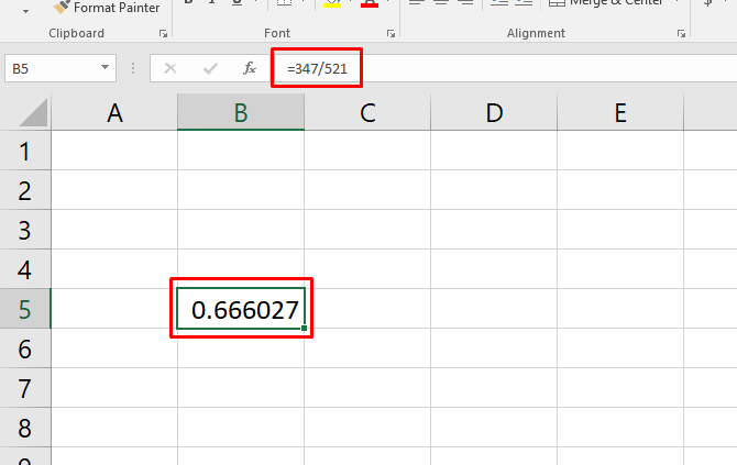 how to calculate basic statistics in excel