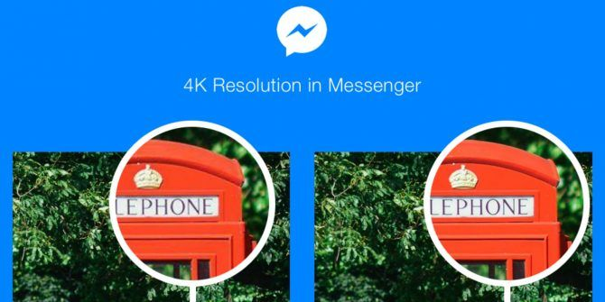 You Can Now Send 4K Photos Using Facebook Messenger