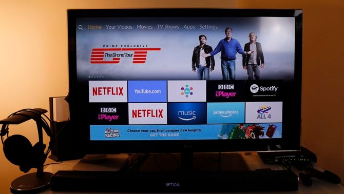 Amazon Fire TV 2017 Review: The Little Box That Thought It Could firetv home