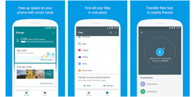 You Can Now Try Google's New Files Go App