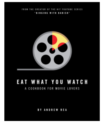 10 Great Gifts for Movie Lovers of All Ages movie cook book